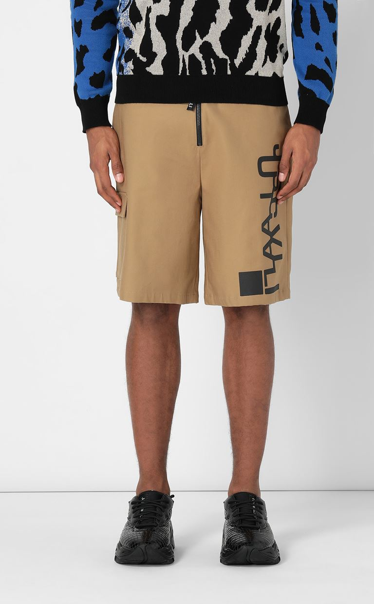 JUST CAVALLI Bermuda shorts with logo Shorts Man r