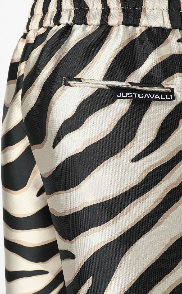 JUST CAVALLI Bermuda shorts with zebra stripes Shorts Man e