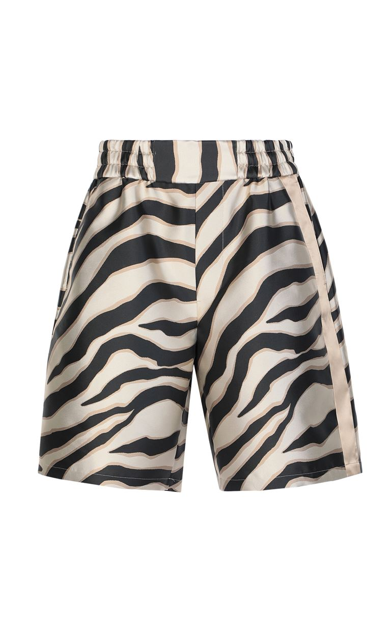 JUST CAVALLI Bermuda shorts with zebra stripes Shorts Man f