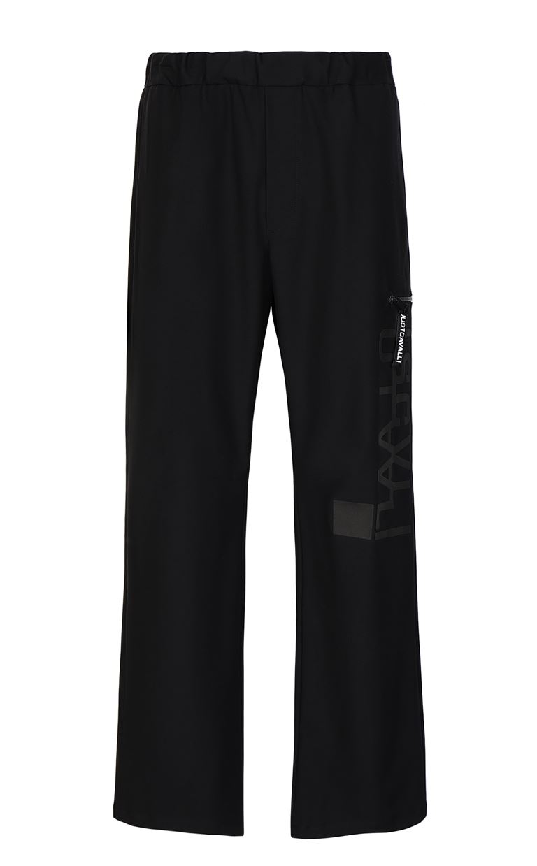 JUST CAVALLI Trousers with logo Casual pants Man f