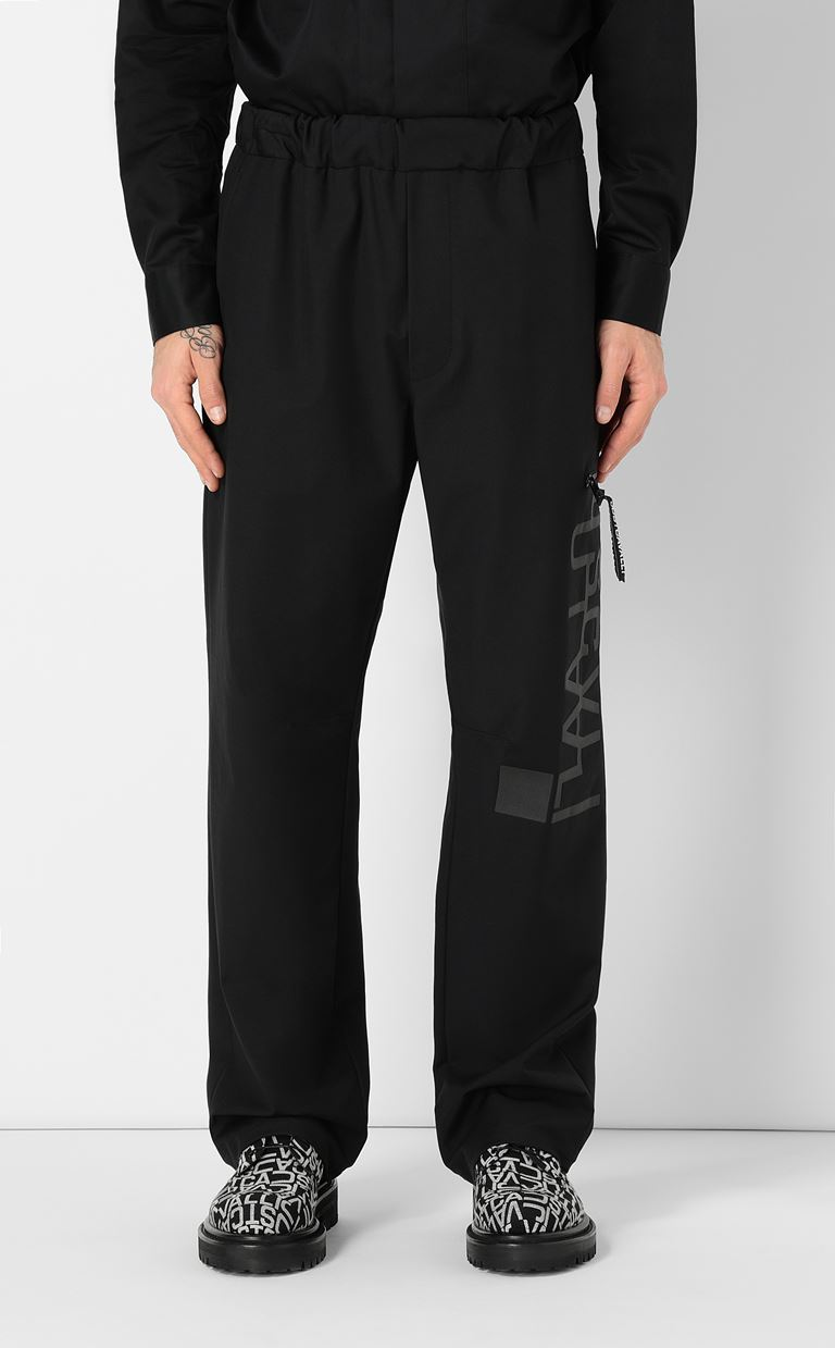 JUST CAVALLI Trousers with logo Casual pants Man r