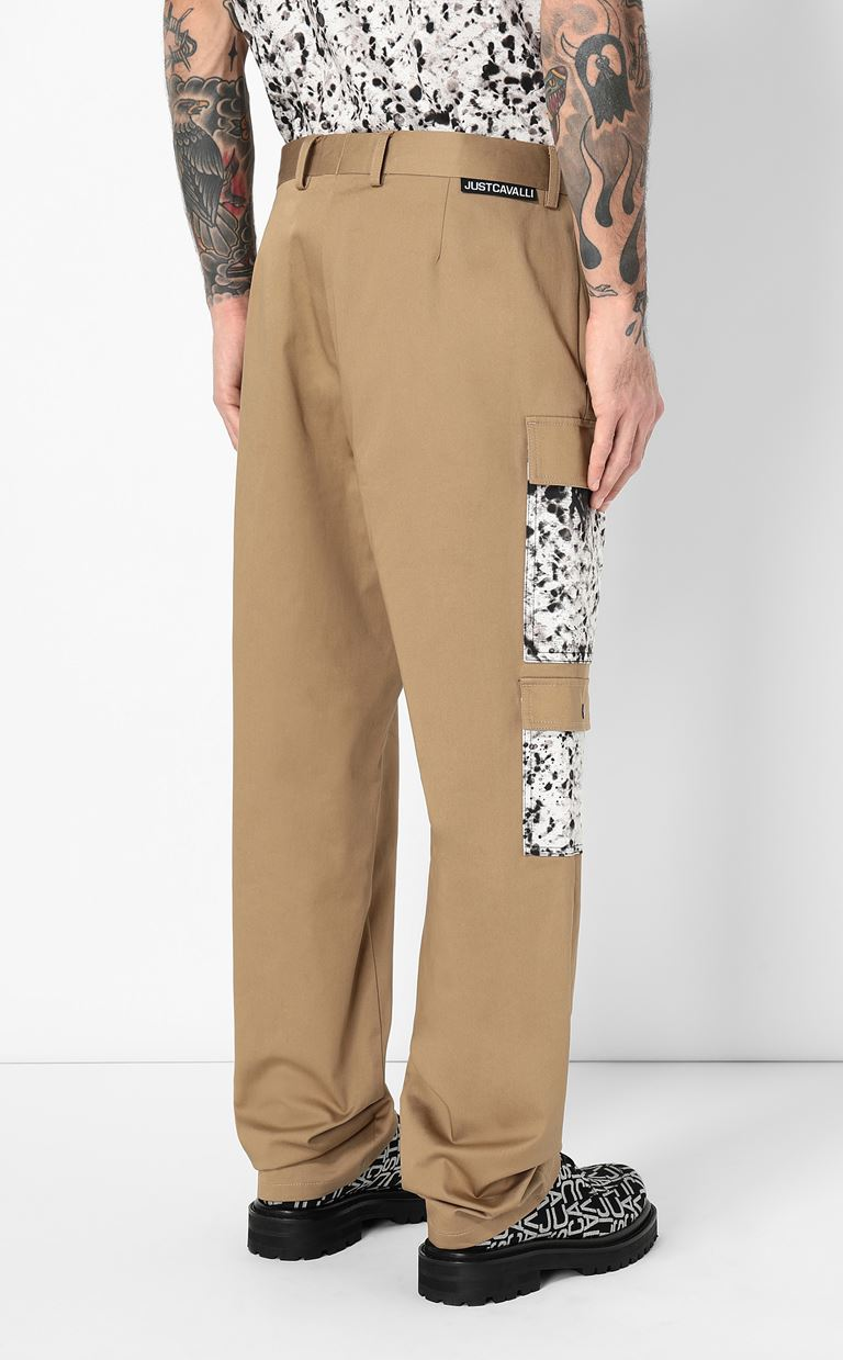 JUST CAVALLI Trousers with pockets Casual pants Man a