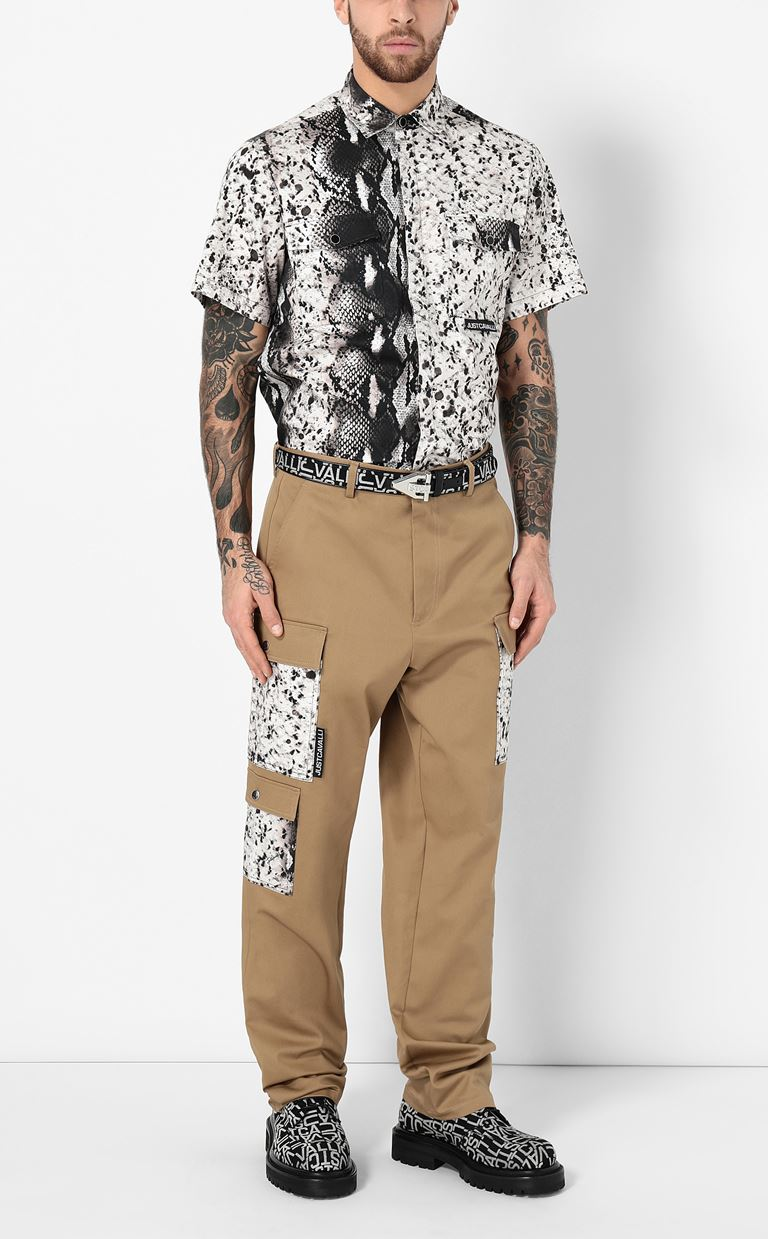 JUST CAVALLI Trousers with pockets Casual pants Man d