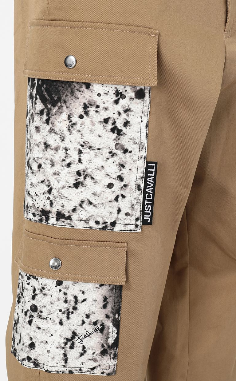 JUST CAVALLI Trousers with pockets Casual pants Man e
