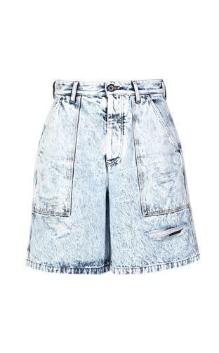 JUST CAVALLI Shorts Man Denim shorts f