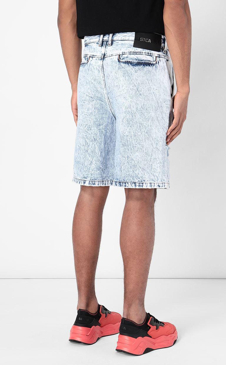JUST CAVALLI Denim shorts Shorts Man a