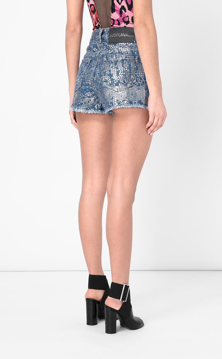 JUST CAVALLI Denim shorts Shorts Woman a