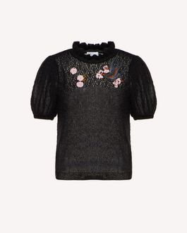 REDValentino Knit Dress Woman SR3KDA704E5 0NO a