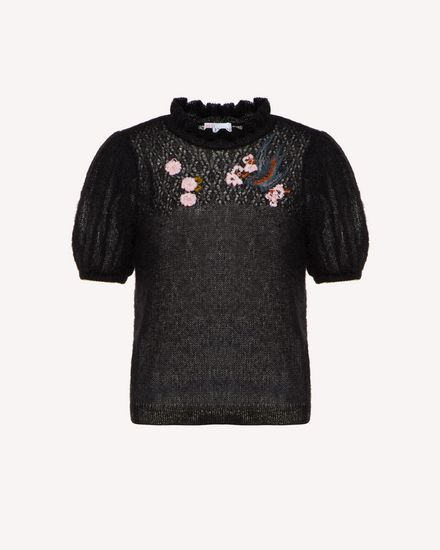 REDValentino Knit Sweater Woman SR0KCB974LP 0NO a