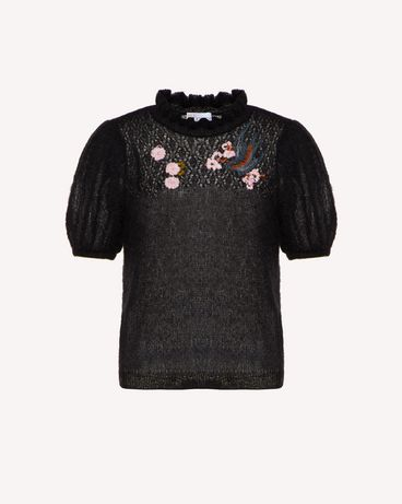 REDValentino SR0KCB974LP 0NO Knit Sweater Woman a