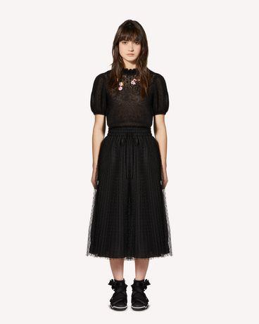 REDValentino SR0KCB974LP 0NO Knit Sweater Woman f