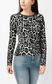 JUST CAVALLI Leopard-spot pullover Crewneck sweater Woman r