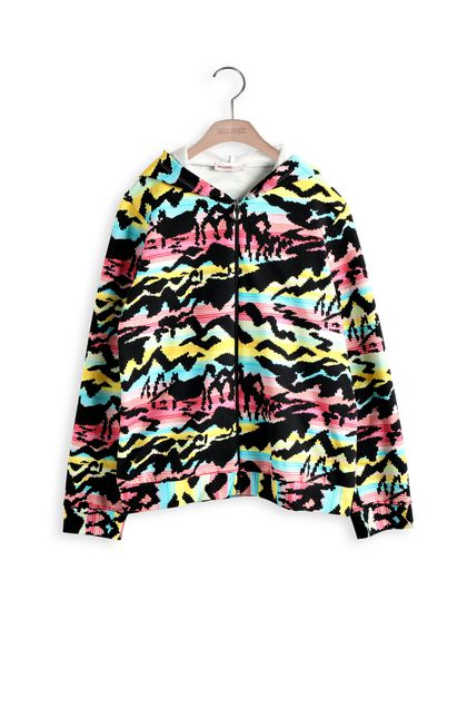 MISSONI KIDS Sweatshirt Black Woman - Back