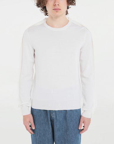 MAISON MARGIELA Crewneck Man Outline wool sweater r