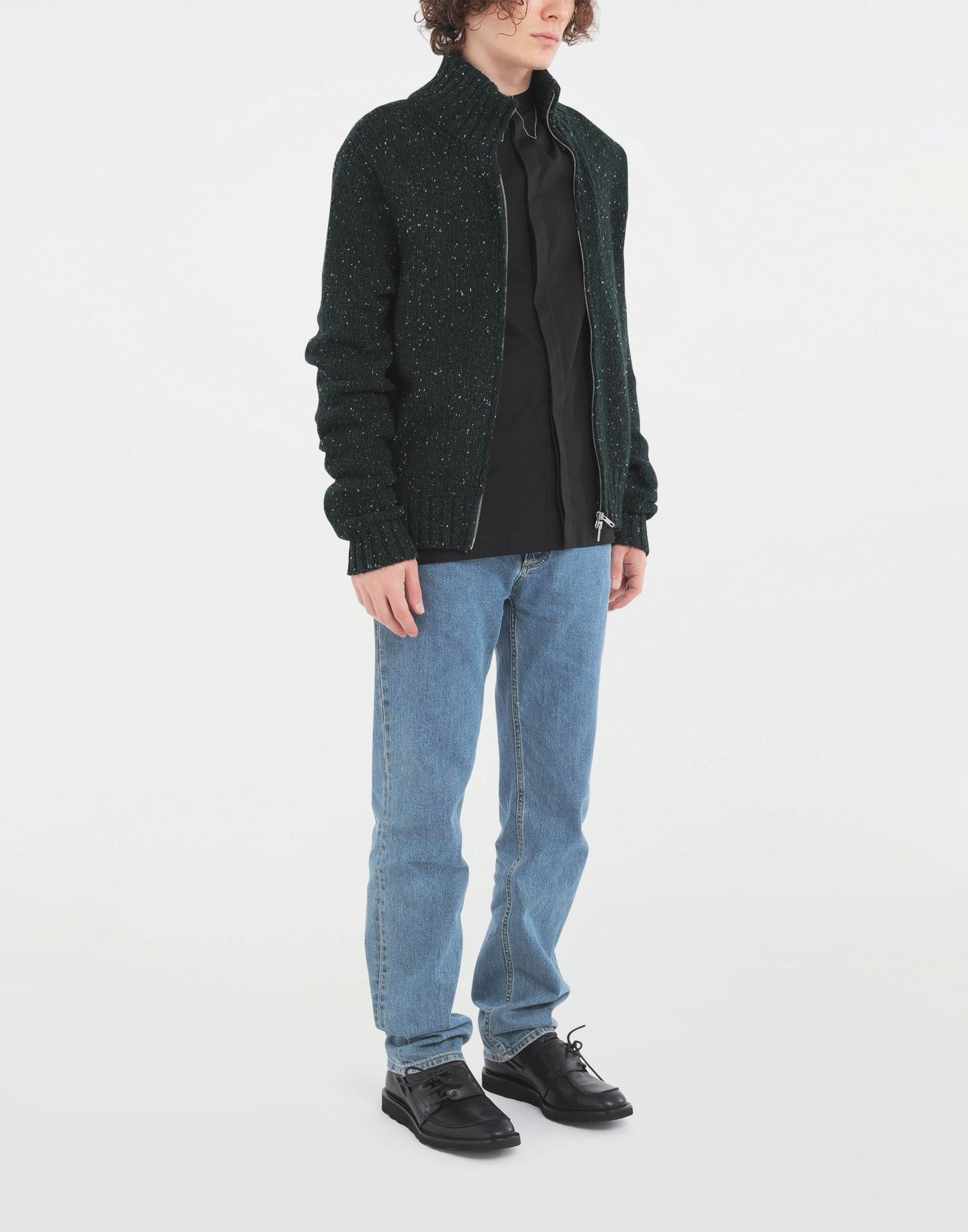 MAISON MARGIELA Zipper sweater Cardigan Man d