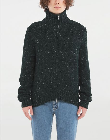 MAISON MARGIELA Zipper sweater Cardigan Man r