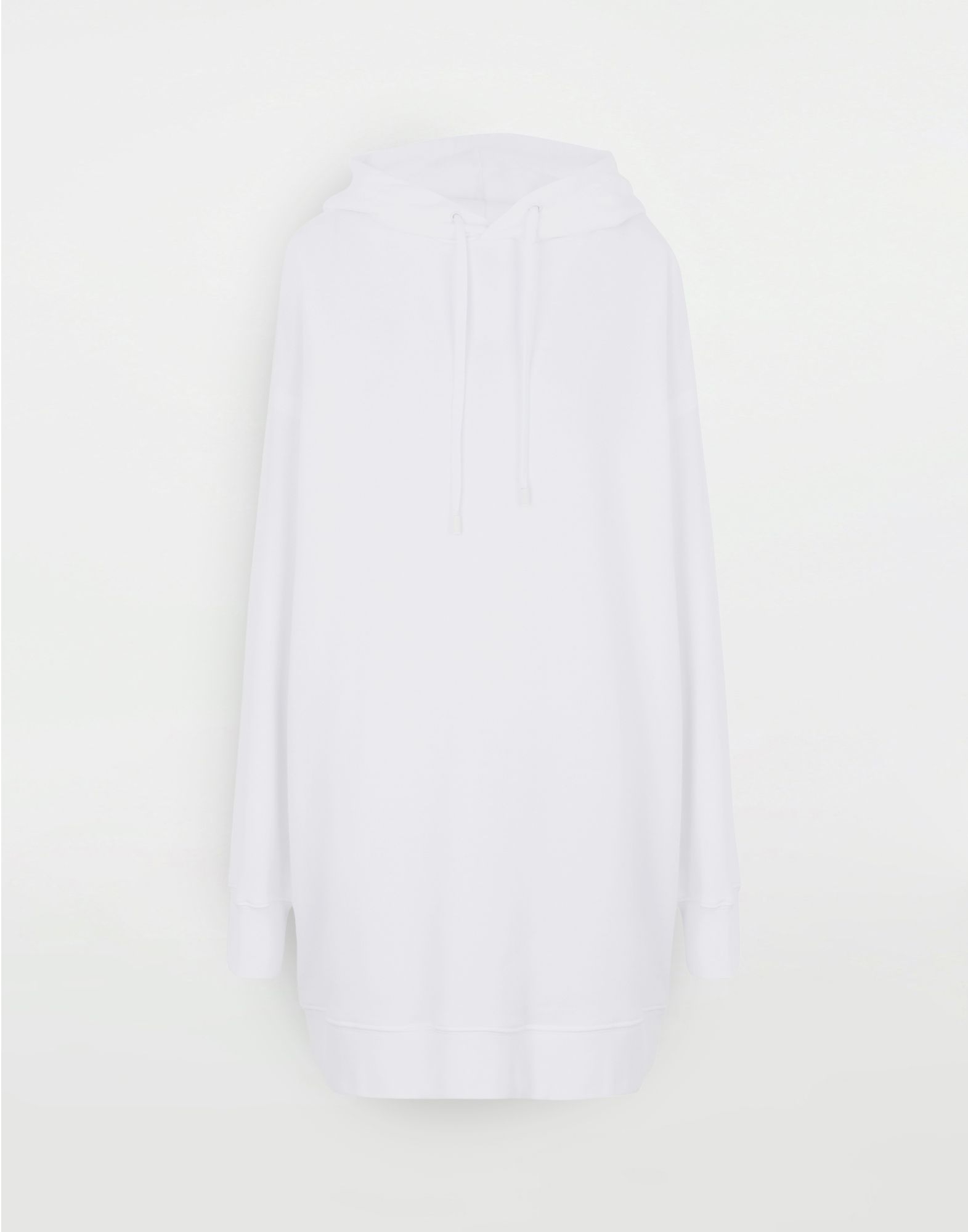 MAISON MARGIELA Long-line hooded sweatshirt Hooded sweatshirt Woman f