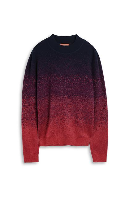 MISSONI Crew-neck Red Man - Back