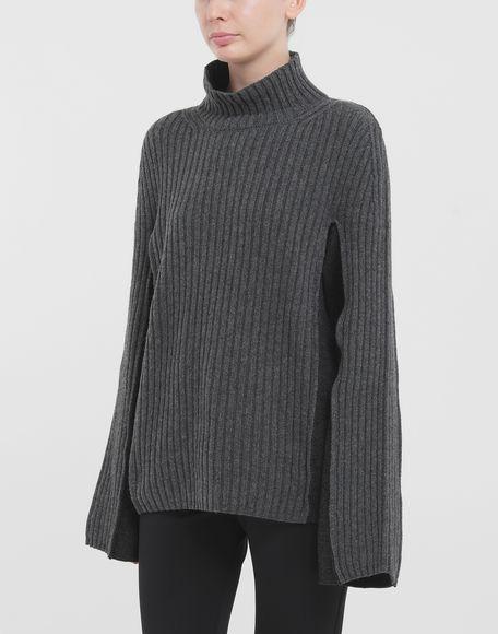 MAISON MARGIELA Turtleneck ribbed wool sweater High neck Woman r