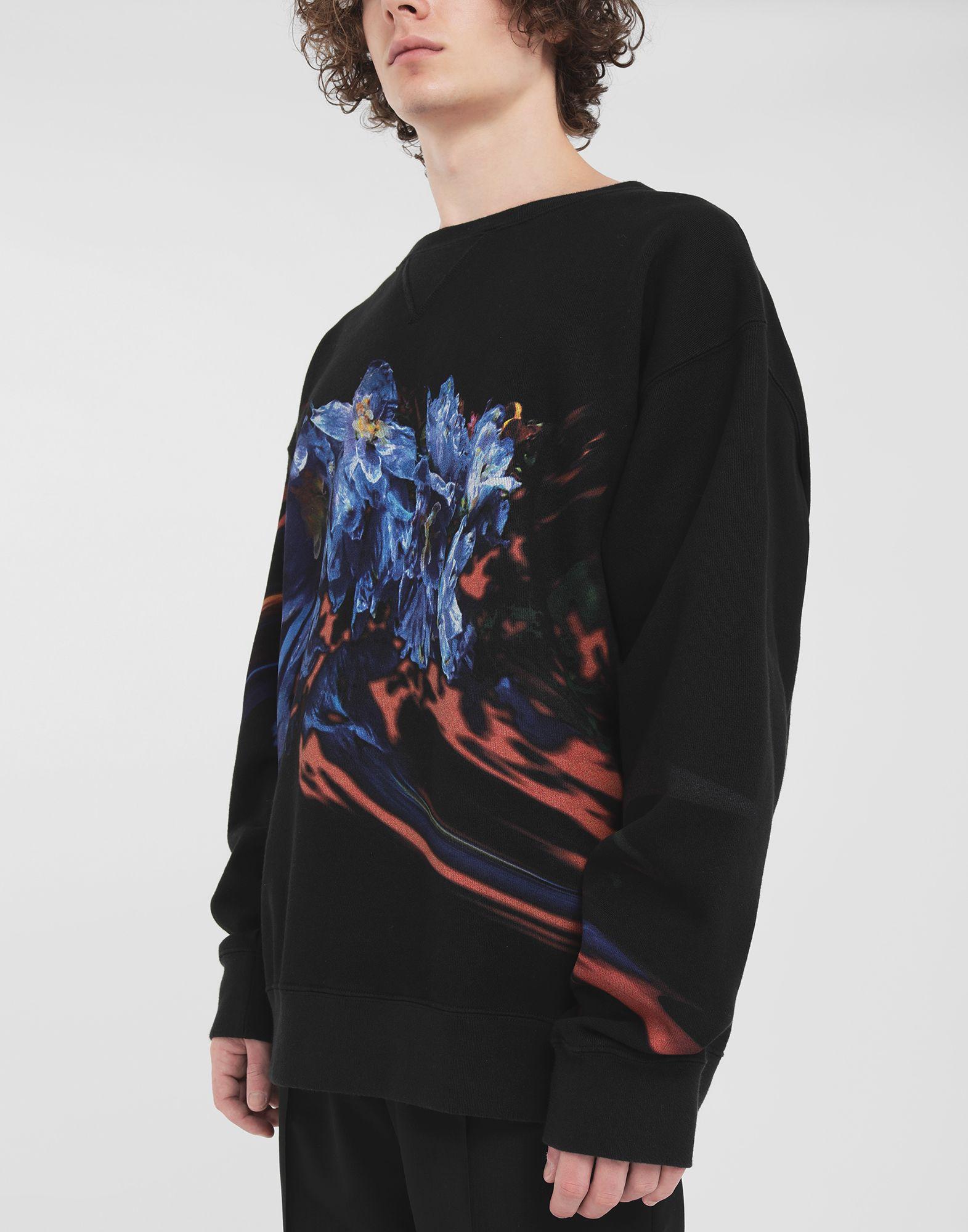 MAISON MARGIELA Flower sweatshirt Sweatshirt Man a
