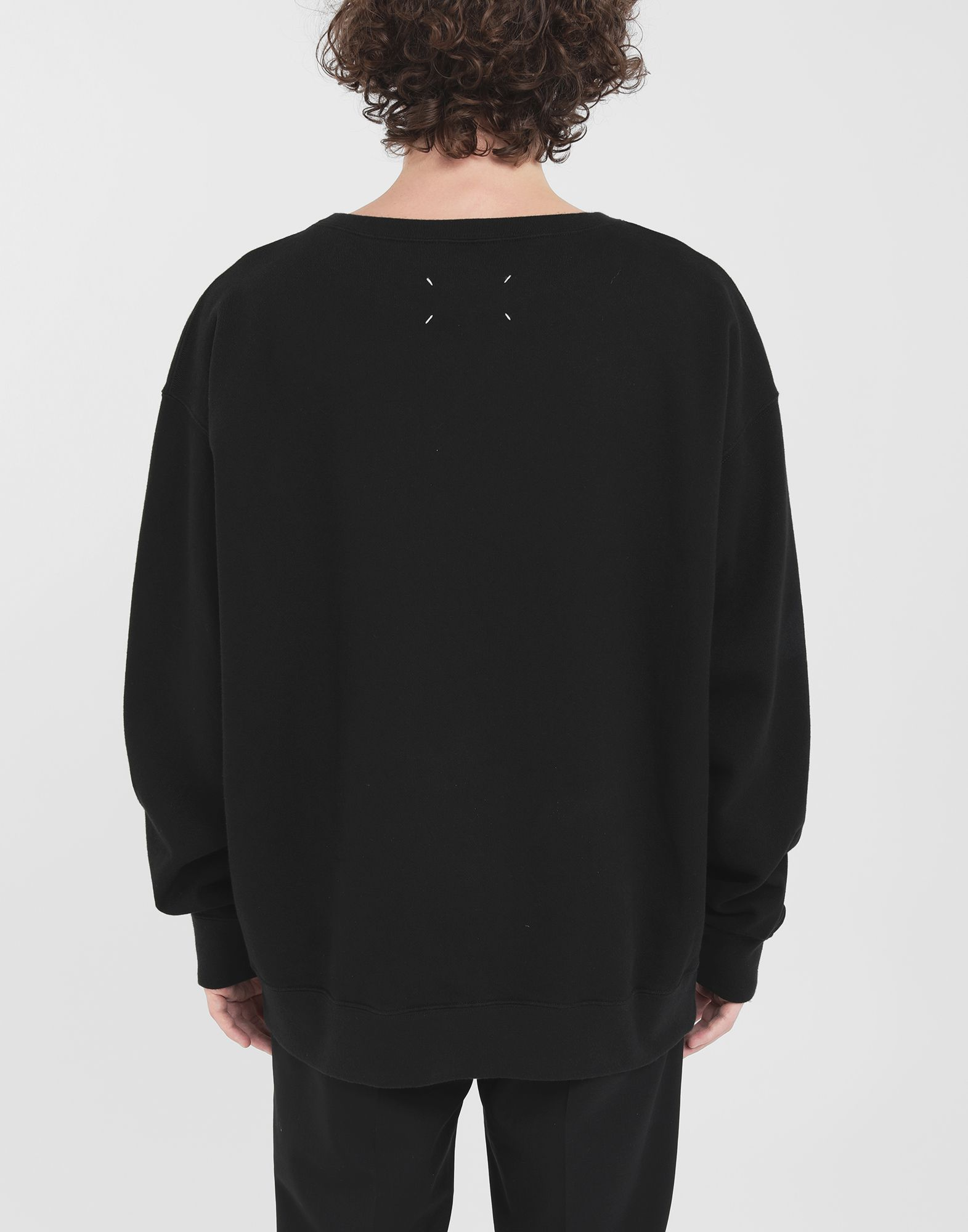 MAISON MARGIELA Flower sweatshirt Sweatshirt Man e