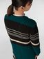 Marni WANDERING IN STRIPES extra-long cardigan in alpaca and virgin wool Woman - 4