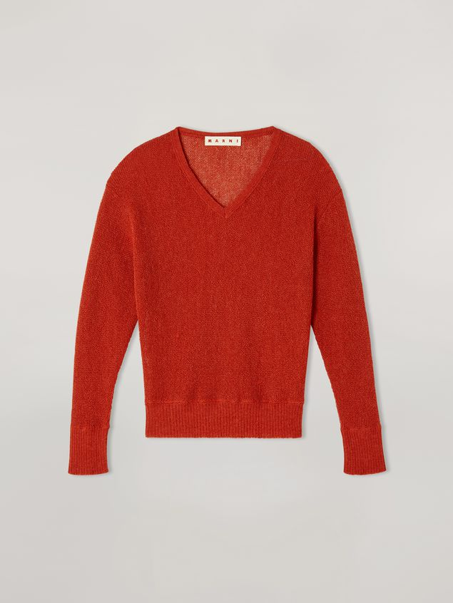 Marni Links boxy knit in alpaca Woman - 2