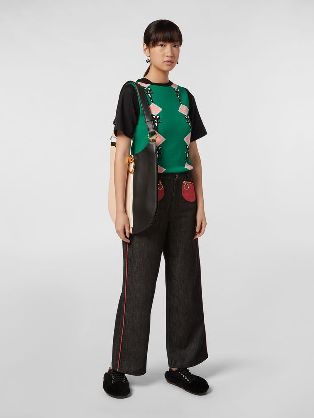 Marni CHINESE NEW YEAR 2020 inlayed wool knit Woman - 5