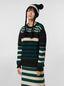 Marni WANDERING IN STRIPES crewneck knitted sweater in virgin and alpaca wool Woman - 1