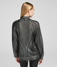 KARL LAGERFELD Coated Sweater 9_f