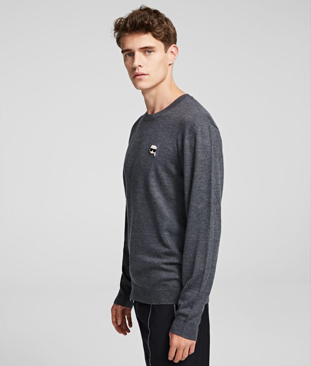 KARL LAGERFELD K/Ikonik Pullover Sweater Man d