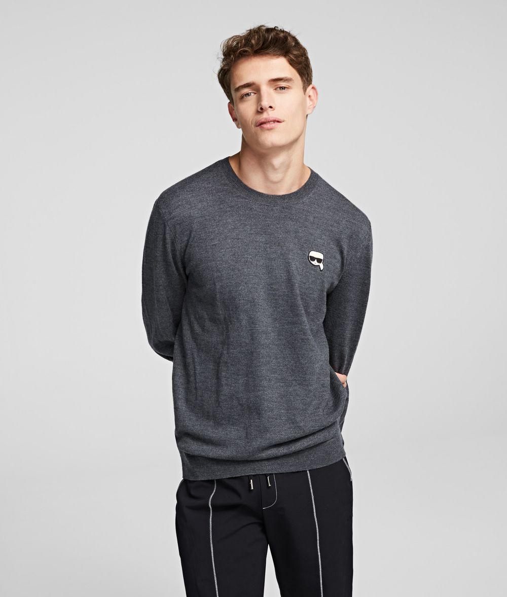 KARL LAGERFELD K/Ikonik Pullover Sweater Man f