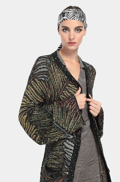 MISSONI Cardigan Black Woman - Front