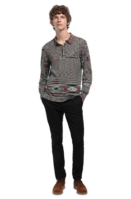 MISSONI Crew-neck Green Man - Front