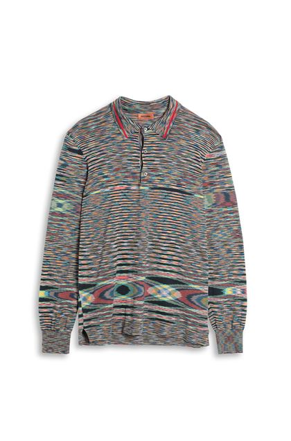 MISSONI Crew-neck Green Man - Back