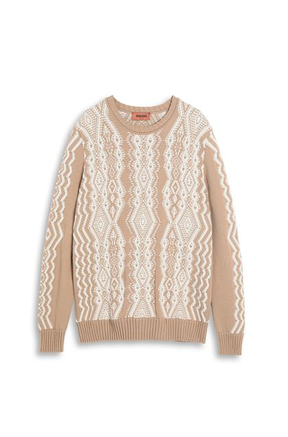 MISSONI Crew-neck Camel Man - Back