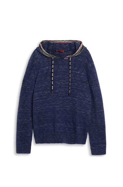 MISSONI Jumper Purple Man - Back