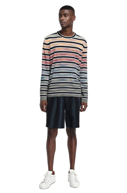 MISSONI Crew-neck Orange Man - Front