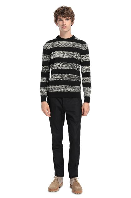 MISSONI Crew-neck Black Man - Front