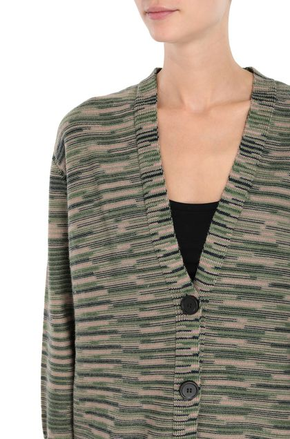 M MISSONI Cardigan Green Woman - Front