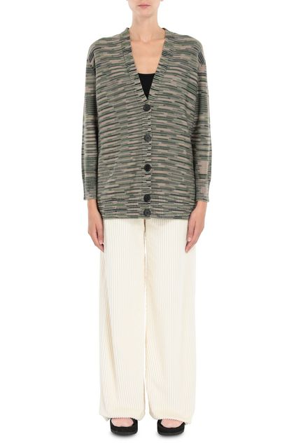 M MISSONI Cardigan Green Woman - Back