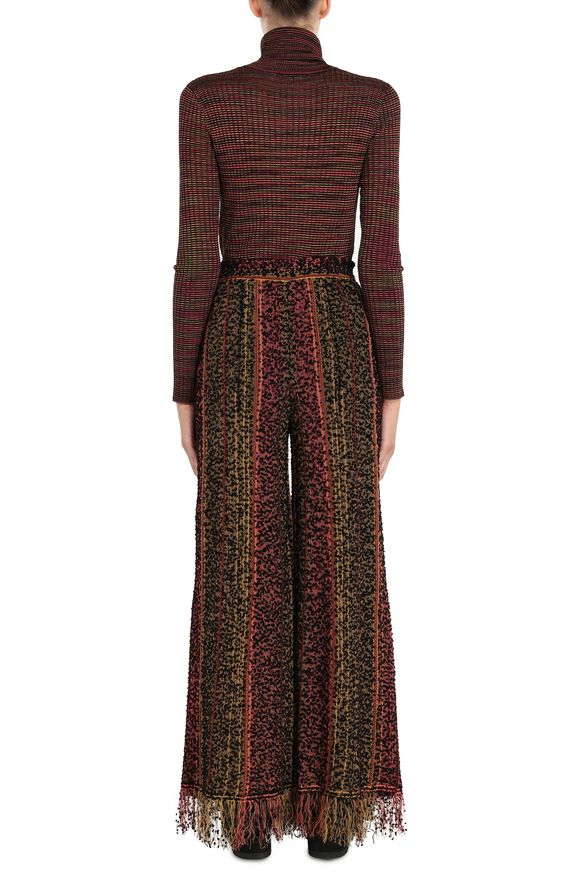M MISSONI Mock polo neck Woman, Side view