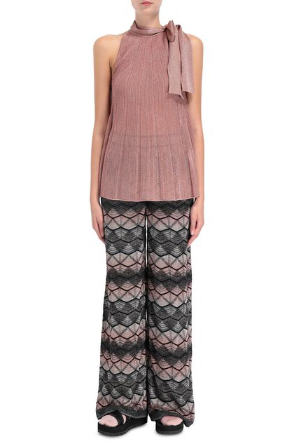 M MISSONI Sweater Pastel pink Woman - Back