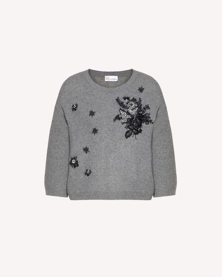 REDValentino Knit Sweater Woman SR0KCB894MG 080 a