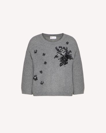 REDValentino SR0KCB894MG 080 Knit Sweater Woman a