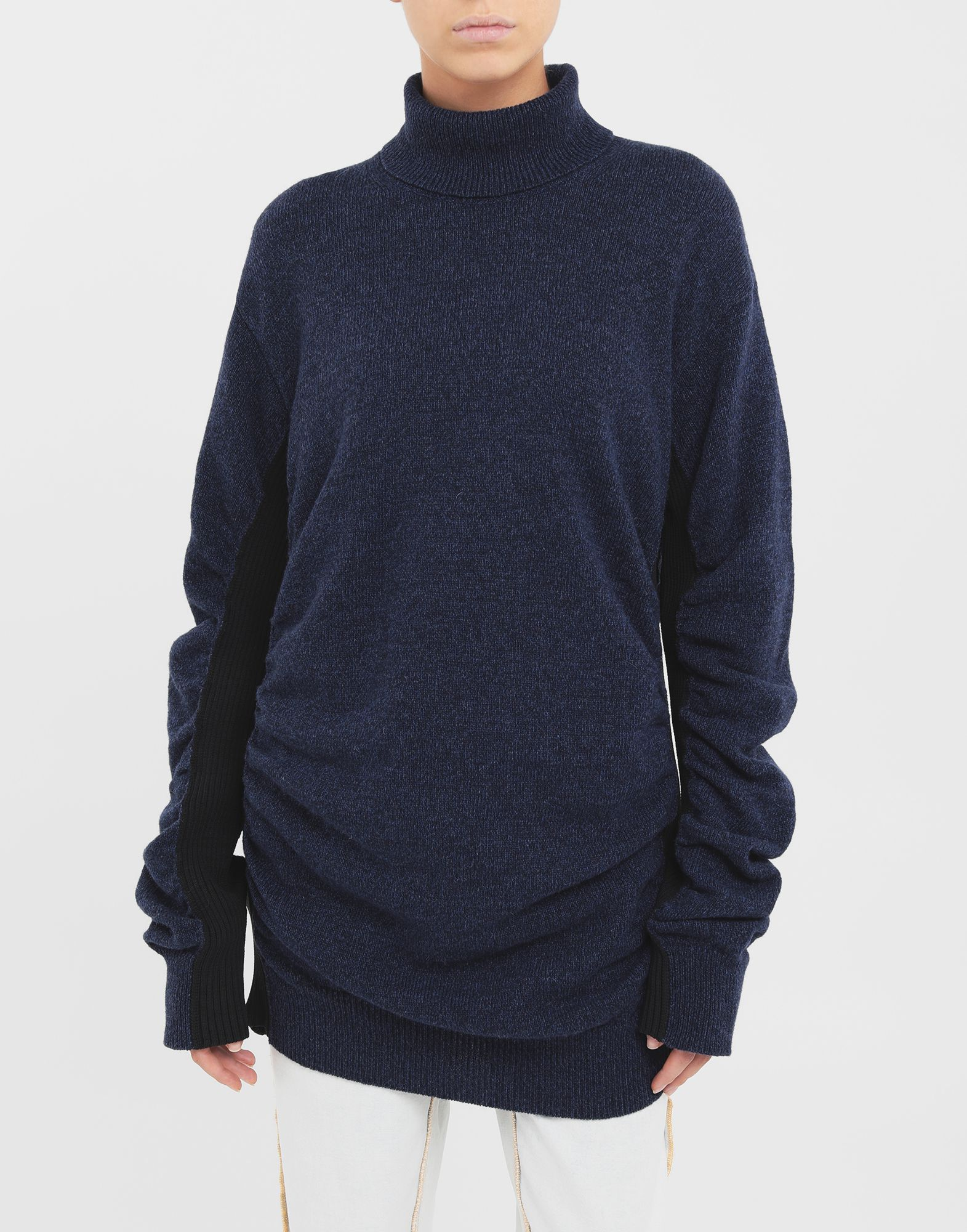 MM6 MAISON MARGIELA Ruched sweater High neck Woman r