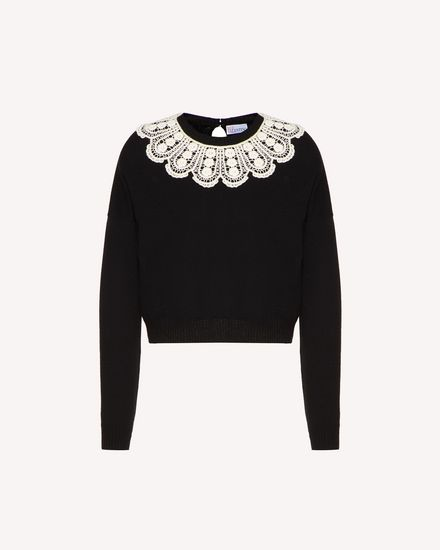 REDValentino Knit Sweater Woman SR0KCB924NQ 0NO a