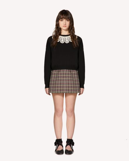 REDValentino Knit Sweater Woman SR0KCB924NQ 0NO f