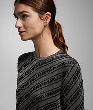 KARL LAGERFELD Logo Lurex Sweater 9_f