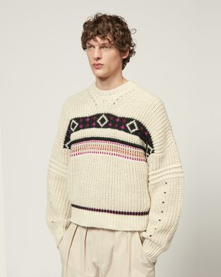 ISABEL MARANT LONG SLEEVE JUMPER Man COOPER JUMPER r